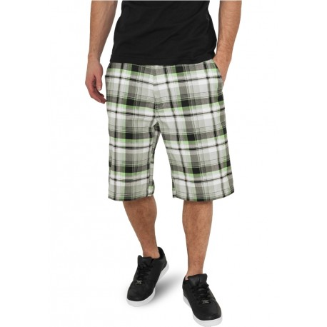 Big Checked Shorts
