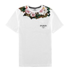 C&S Paris Rosary Digi Camo Pocket Tee - www.baddaclothes.com