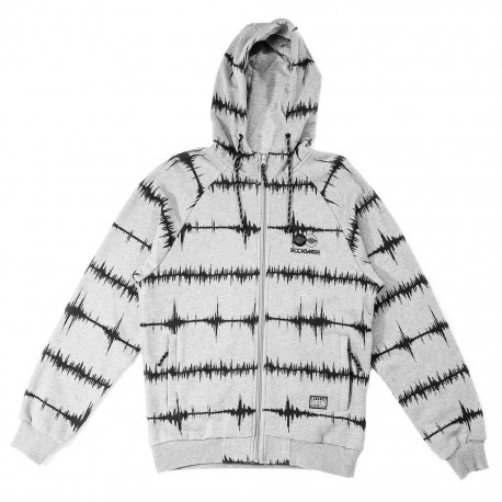 Rocksmith SOUNDWAVE ZIP UP - www.baddaclothes.com