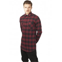 Long Checked Flanell Shirt - Camicia Lunga a quadri