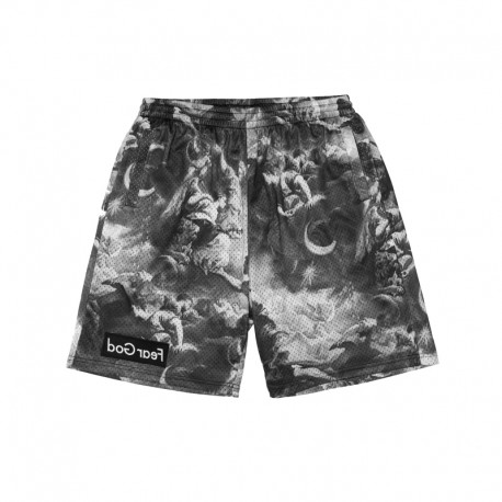 C&S Fear God Mesh Shorts