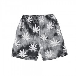 C&S Big Budz Mesh Shorts Blk Wht Btk