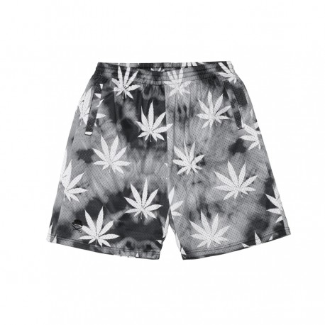 C&S Big Budz Mesh Shorts Royal Blk Wht Btk