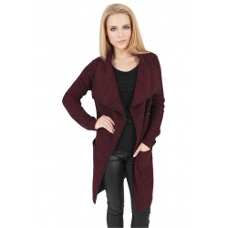 Ladies Knitted Long Cape - Urban Classics