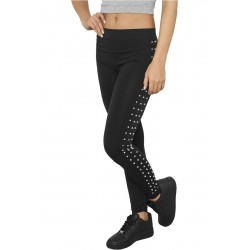 Ladies Side Rivets Leggings - Urban Classics