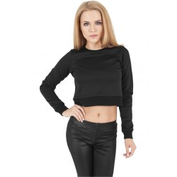 Ladies Scuba Cropped Crew - Urban Classics