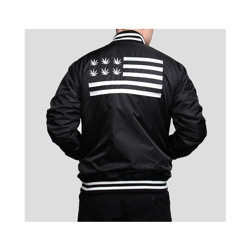 Cayler &amp Sons V$A Baseball Jacket - BaddaClothes