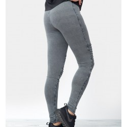 Ladies Denim Jersey Leggings - Urban Classics