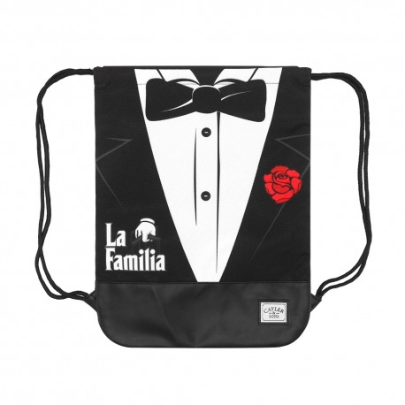 C&S WL Head Of The Family Gym Bag Reversibile