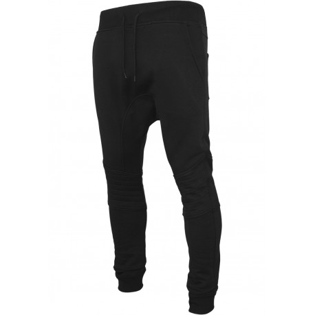 Deep Crotch Biker Sweatpants Pantaloni