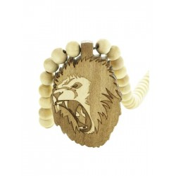 Wood Fellas Lion King Necklace - Collana in legno