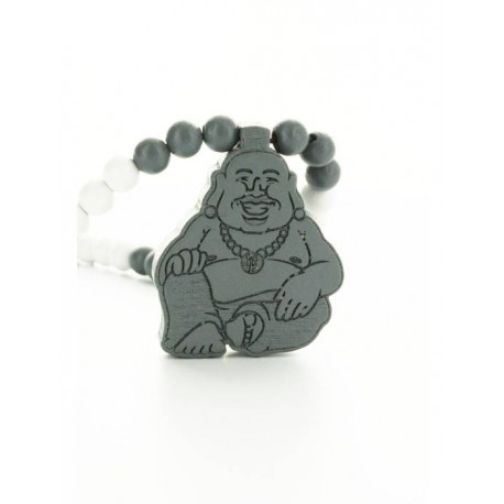 Wood Fellas Buddha necklace - Collana in legno