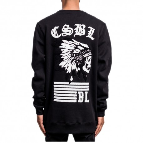C&S BL Armed & dangerous crewneck