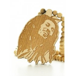 Wood Fellas Bob Necklace - Collana in legno
