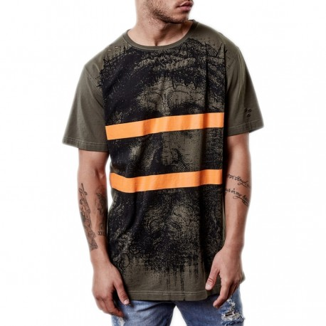 C&S Our Father Scallop Back Tee