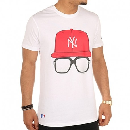 New Era - MLB Cap and Glasses Tee NY Yankees