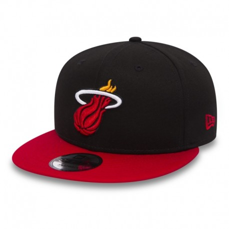 New Era - Miami Heat Black Base 9FIFTY Snapback