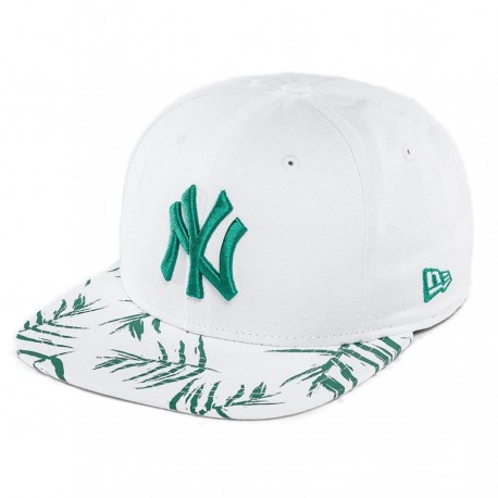 fdef7675 Yankees Sand Wash Visor Print 9FIFTY Snapback hat - BaddaClothes