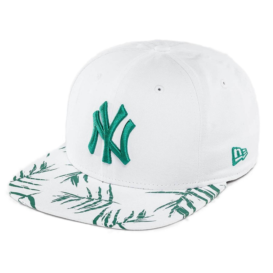 52eeac0a885 New ERa - NY Yankees Sand Wash Visor Print Original Fit 9FIFTY Snapback