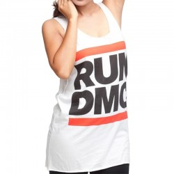 Ladies Run DMC Logo Tank