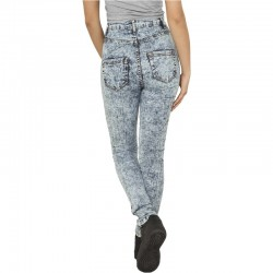 Skinny Pants Ladies High Waist Denim - Urban Classics