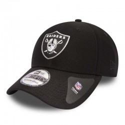 New Era - Oakland Raiders NFL Black Collection 39THIRTY