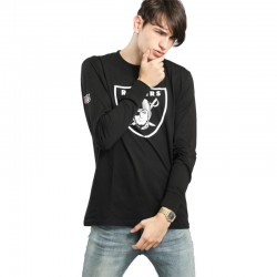 New Era Oakland Raiders team apparel L/S Tee
