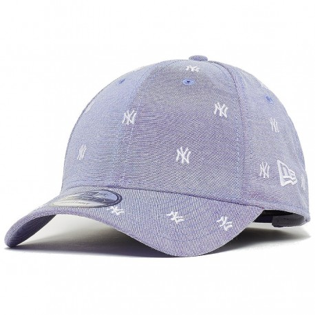 New Era - Yankees Monogram 9forty Sky White