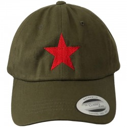 Red Star Snapback Cap