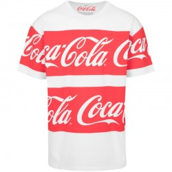 Coca Cola Stripe Fresh Tee