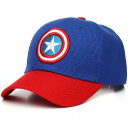 Captain America Curved Cap