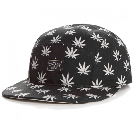 Cayler & Sons Budz&Stripes 5-Panel Cap