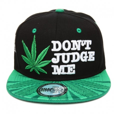 Dont Judge Me Snapback Cap