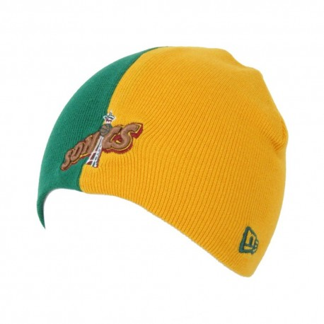 New Era - Team Skull Knit Beanie Seattle SuperSonics