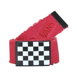 Vans - Checkered Buckle Canvas Belt