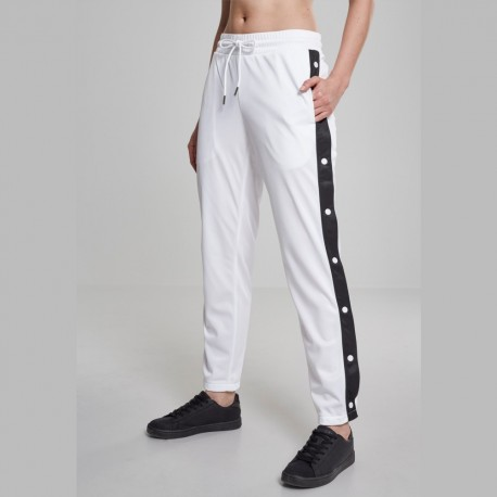 Urban Classics - Ladies Button Up Track Pants