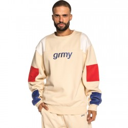 Grmy - Flamboyant Crewneck Cream