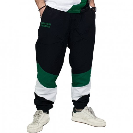 New Era - Boston Celtics Track Pants Colour Block Retrò
