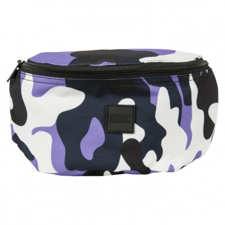 Camo Hip Bag ultraviolet