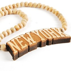 Wood Fellas New York Necklace