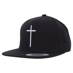 Cross Snapback Cap