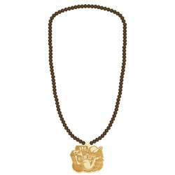 Wood Fellas Monkey Necklace
