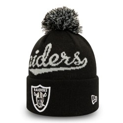 New Era - NFL Pompon Beanie Oakland Raiders