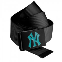 MLB NY Yankees Canvas Belt Turquoise