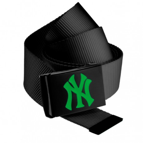 MLB NY Yankees Canvas Belt Kelly