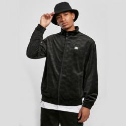 Southpole - Sweat zippé en velours damassé