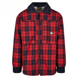 Southpole - Checked Flannel and Sherpa Jacket
