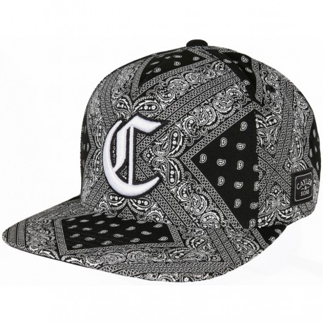 Cayler & sons Bandana All-over Snapback Cap