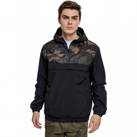 Camo Pull Over Jacket