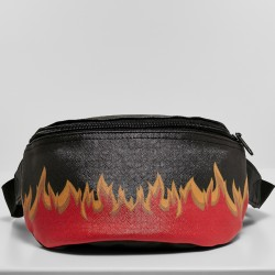 Flame Leather Hip Bag